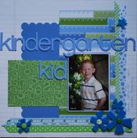 kindergarten kid