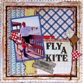fly a kite *GIRLS' PAPERIE ON HOLIDAY REVEAL*