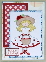 happy birthday card *GIRLS' PAPERIE ON HOLIDAY REVEAL*