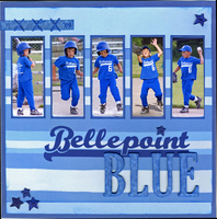 Bellepoint Blue (May Color Challenge)