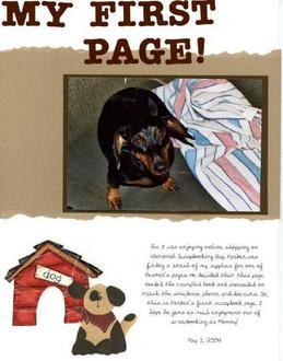 Parker's First Page