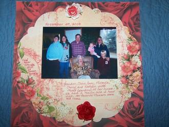 Gary's Mom & Family