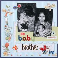 Her Baby Brother **Snugglebug Boy CT Reveal**
