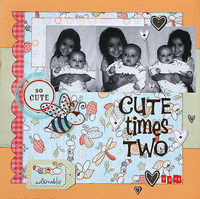 Cute Times Two **Snugglebug Boy CT Reveal**