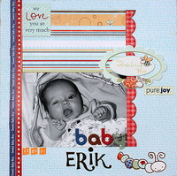 Baby Erik **Snugglebug Boy CT Reveal**