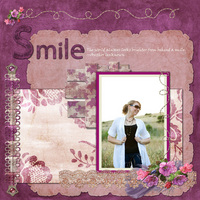SMILE - Digi CT Reveal, Designer Kay Eflin