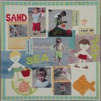 Sand Sea Joy