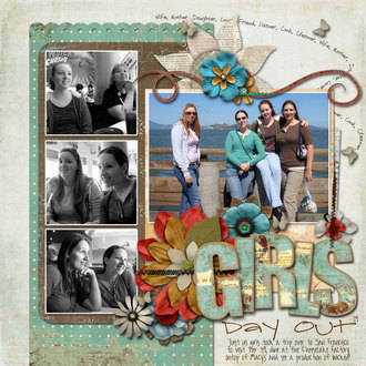 Girls Day Out {digi CT reveal}