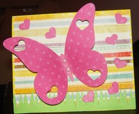 Butterfly garden - Hybrid card