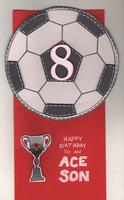 Football/Soccer Birthday Card