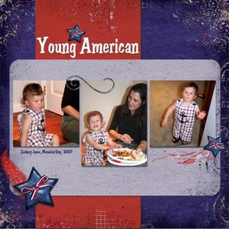 Young American *Digi Reveal 7/9*