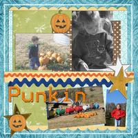 Punkin Patch Fun