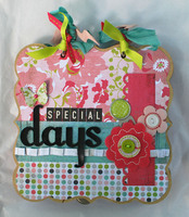 Special Days Mini Album Crop Class