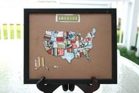 Hybrid America Map