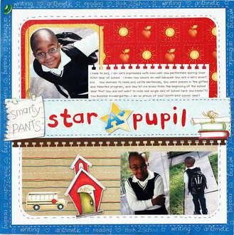 Star Pupil *NEW Creative Imaginations*