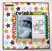 Twinkle Twinkle Little Star - Twisted sketch #59 with the STAR twist