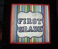 First Grade Binder Cover