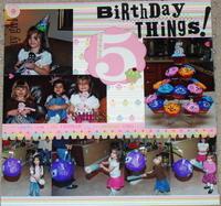 5th Birthday- Challenge #7