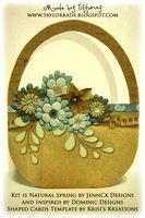 Flower Basket Hybrid Card