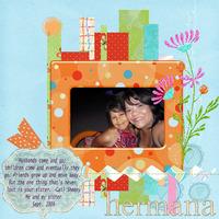 Hermana (sister) - Digi do-able August 2010
