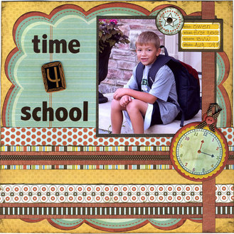 Time 4 School (August Numbers Contest)