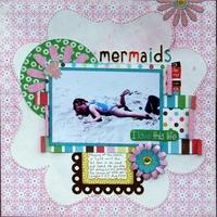 Mermaids nap too ***Echo Park Life is Good Reveal***