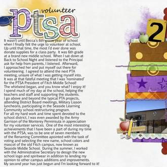 PTSA Volunteer {Digi CT reveal}