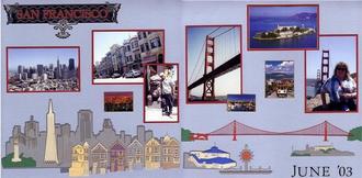 San Francisco - 2 page spread
