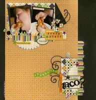 ^^Echo Park Reveal^^ Spaghetti taco?