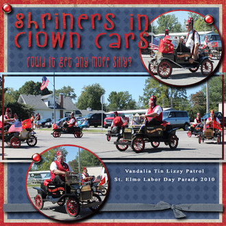 Shriners in Clown Cars