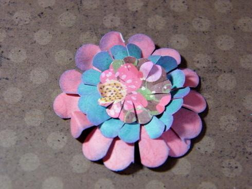 scalloped paper flower