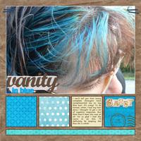 Vanity In Blue