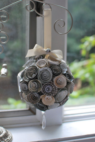 hanging flower ball