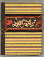 Autumn notebook cover
