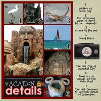 Vacation Details