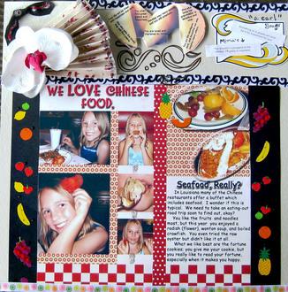 We Love Chinese Food.