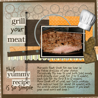 RECIPE:  Grill Your Meat