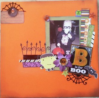 B is for Boo.