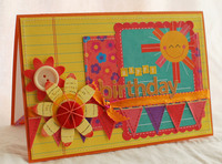 *Sass Lass Challenge* Birthday Card