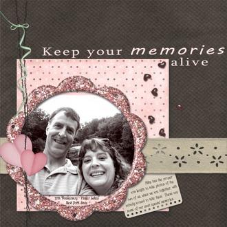 Keep Your Memories Alive