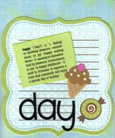 Happy  Day- Fast Scrap #5