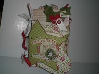 Vintage Merry Xmas Mini Album