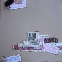 Melissa Frances Reveal-How We Loved Him