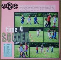 Time 4 Soccer- Challenge #5