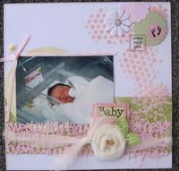 Baby Girl Acrylic