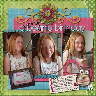 a very beanie birthday