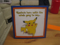 Hybrid Pokemon Pop-Up Card