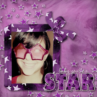 Baby you're a STAR