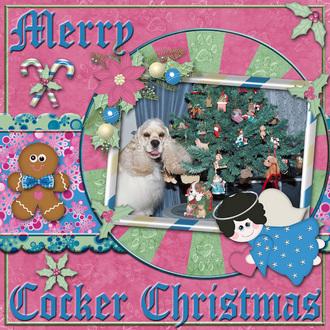 Merry Cocker Christmas