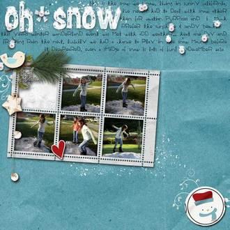 Oh Snow {digi CT reveal}